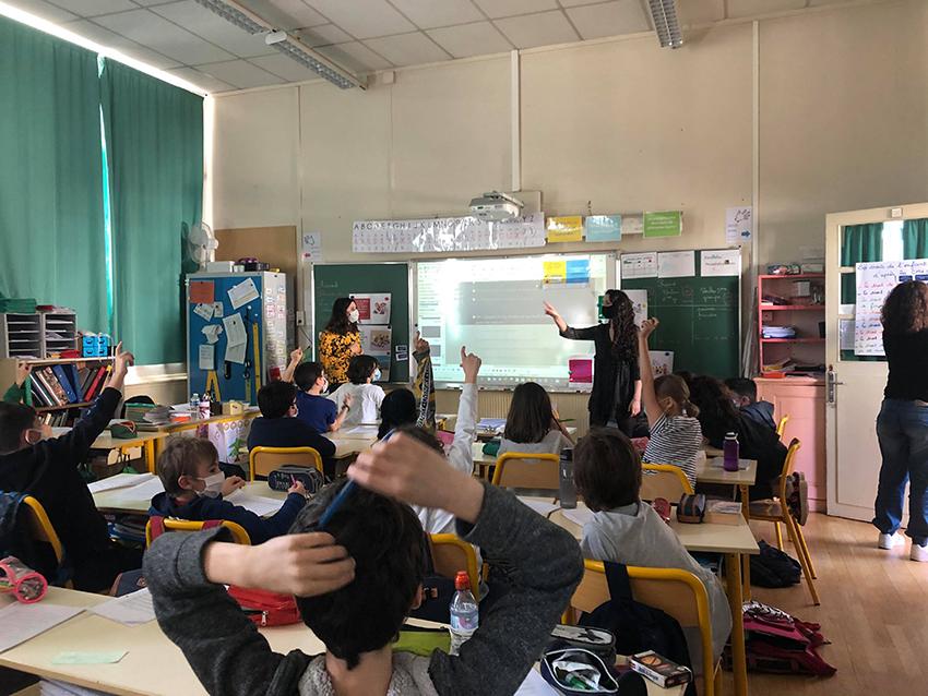 Action sensibilisation école primaire